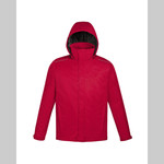 EA - Core 365 Men's Region 3-in-1 Jacket with Fleece Liner (Red 88205)