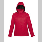 EA - Core 365 Ladies' Region 3-in-1 Jacket with Fleece Liner (Red 78205)