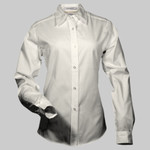 Lunch Lady - (Light) Easy Care Long Sleeve Ladies' Shirt