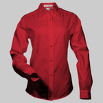 Lunch Lady - Easy Care Long Sleeve Ladies' Shirt
